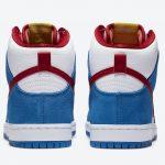 "Nike SB Dunk High ""Doraemon"" (ナイキ SB ダンク ハイ ""ドラえもん"") CI2692-400 back"