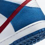 "Nike SB Dunk High ""Doraemon"" (ナイキ SB ダンク ハイ ""ドラえもん"") CI2692-400 heel"