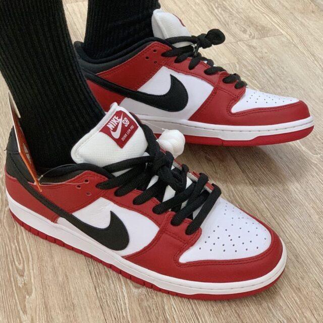 """Nike SB Dunk Low """"Chicago"""" (ナイキ SB ダンク ロー """"シカゴ"""") BQ6817-600 pair"""