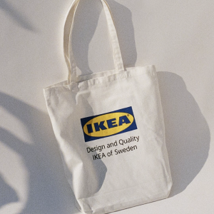IKEA公式のアパレルブランドEFTERTRÄDA(エフテルトレーダ )コレクション, トートバッグ