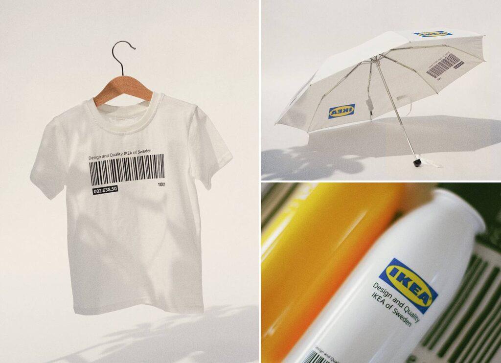 IKEA公式のアパレルブランドEFTERTRÄDA(エフテルトレーダ )コレクションについて (ikea-eftertrada-collection-clothing-t-shirt-hoodie-bag-tokyo-Tshirt_umbrella_bottle)