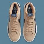 "Nike SB Blazer Mid ""Sashiko"" Pack (ナイキ SB ブレーザー ミッド ""サシコ"" パック) CT0715-200, CT0715-400"