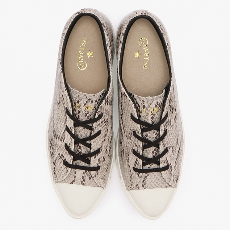 CONVERSE ALL STAR COUPE POINTUE LEATHER OX & SNK OX コンバース オールスター クップ ポワンテュ スネーク OX above