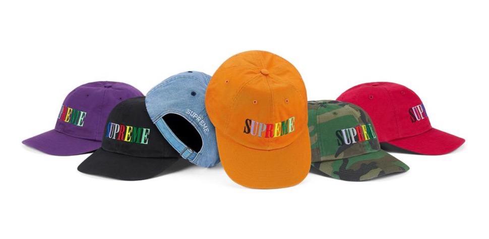 supreme 2020FW week1 シュプリーム 2020年 秋冬 Multi-Color-Logo-6-Panel