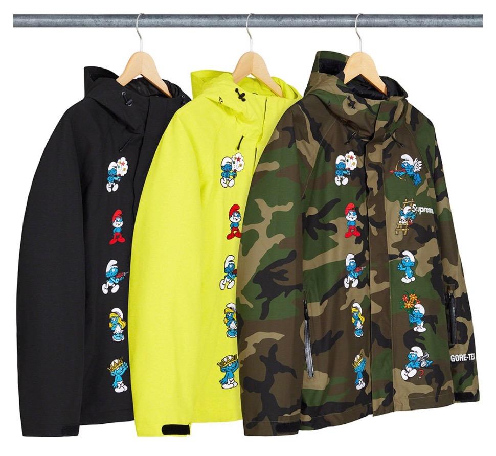 supreme 2020FW week1 シュプリーム 2020年 秋冬 Smurfs-GORE-TEX-Shell-Jacket color