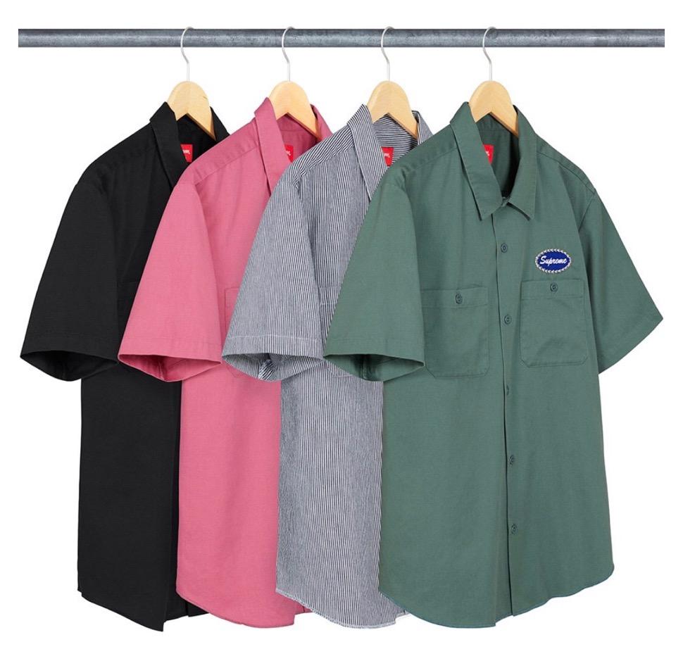 supreme 2020FW week1 シュプリーム 2020年 秋冬 Studded-Patch-SS-Work-Shirt