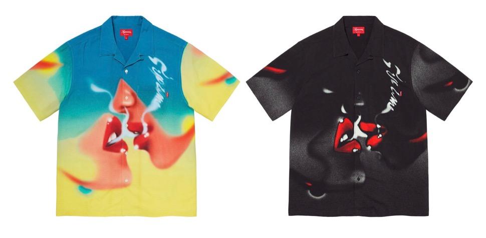 supreme 2020FW week1 シュプリーム 2020年 秋冬 Blow-Back-Rayon-SS-Shirt color
