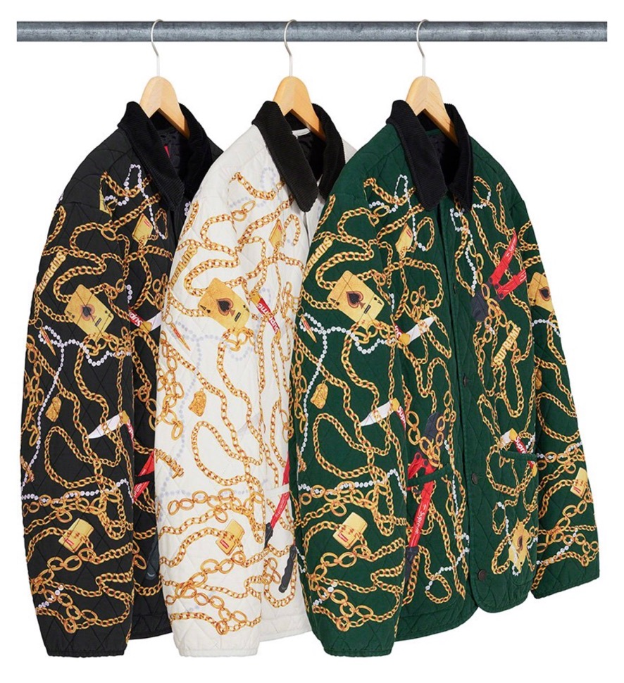 supreme 2020FW week1 シュプリーム 2020年 秋冬 Chains-Quilted-Jacket color