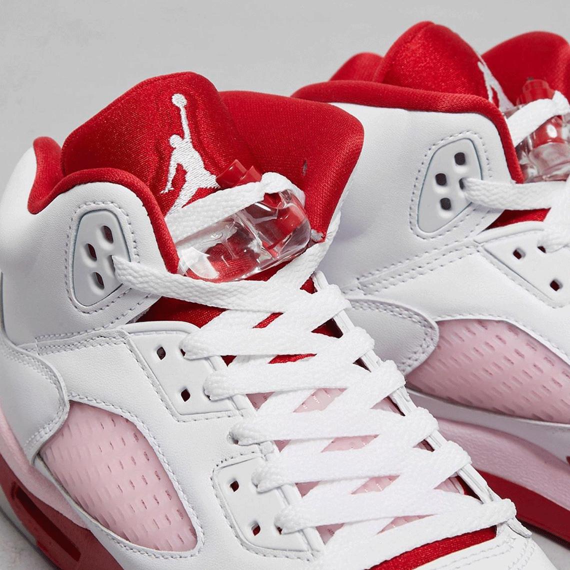 NIKE Air Jordan 5 GS Pink Foam ナイキ エアジョーダン5 GS ピンク フォーム 440892-106 tan