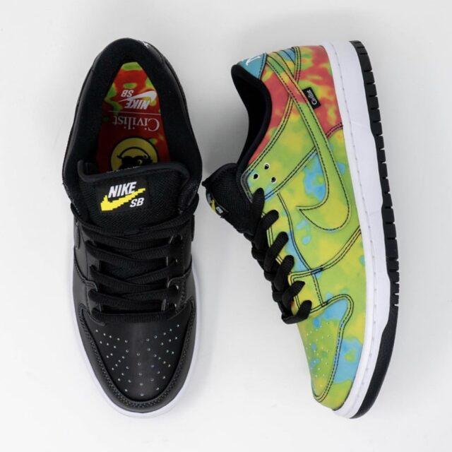 "Nike SB Dunk Low ""Thermography"" (ナイキ SB ダンク ロー ""サーモグラフィー"") CZ5123-001 multi color heat black cold"