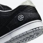 "Medicom Toy × Nike SB Dunk Low ""BE@RBRICK"" (メディコム トイ × ナイキ SB ダンク ロー ""ベアブック"") CZ5127-001 heel"