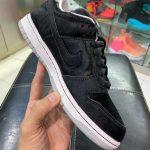 """Medicom Toy × Nike SB Dunk Low """"BE@RBRICK"""" (メディコム トイ × ナイキ SB ダンク ロー """"ベアブック"""") CZ5127-001 side leak left"""