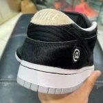 "Medicom Toy × Nike SB Dunk Low ""BE@RBRICK"" (メディコム トイ × ナイキ SB ダンク ロー ""ベアブック"") CZ5127-001 leak heel"