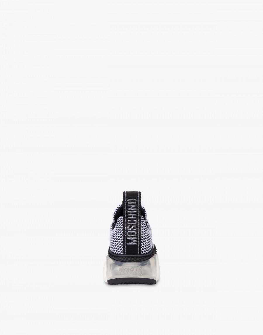 Moschino Teddy bubble Shoe モスキーノ テディ― バブル シューズ MA15553G2B11010A black back