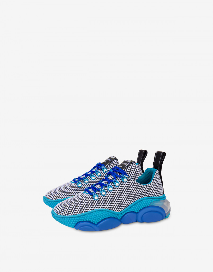 Moschino Teddy bubble Shoe モスキーノ テディ― バブル シューズ MA15553G2B11010A blue main