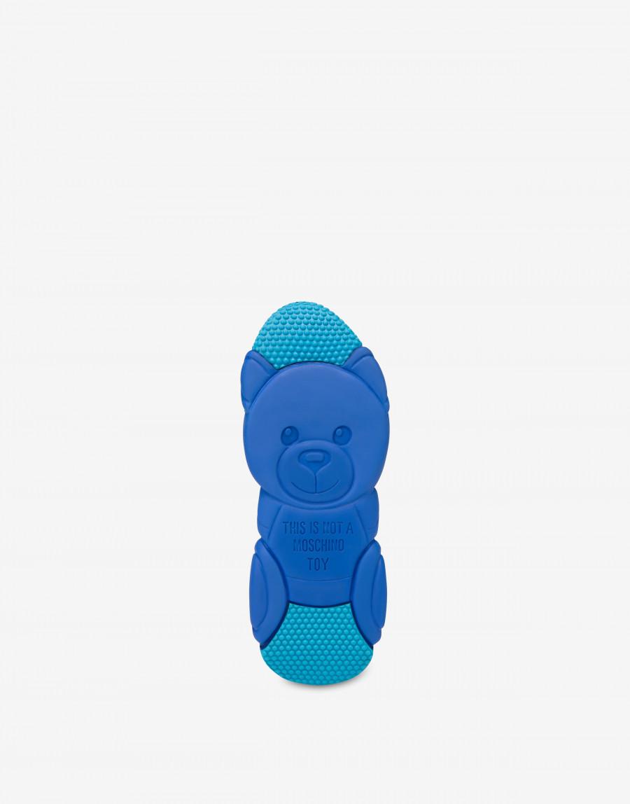 Moschino Teddy bubble Shoe モスキーノ テディ― バブル シューズ MA15553G2B11010A blue outsole