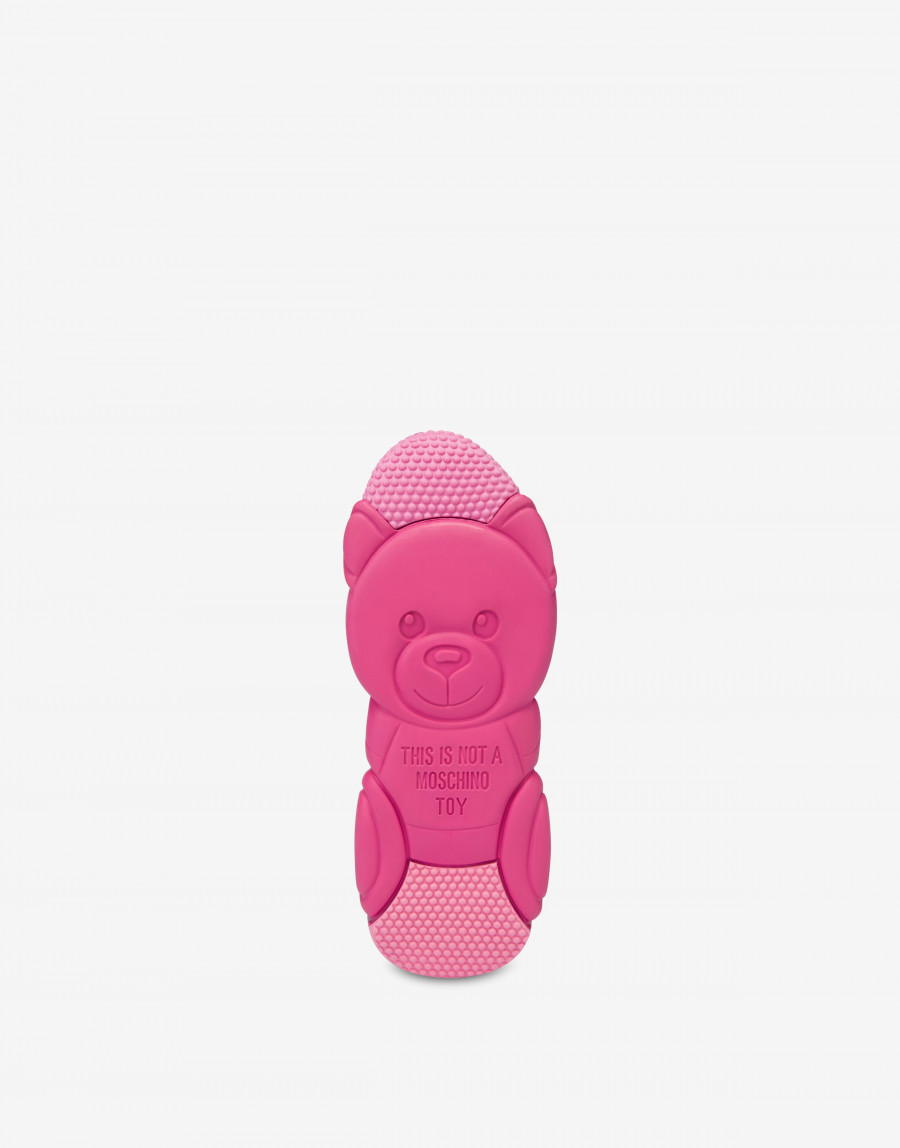 Moschino Teddy bubble Shoe モスキーノ テディ― バブル シューズ MA15553G2B11010A fuchsia outsole