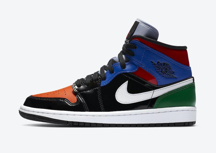 "Nike WMNS Air Jordan 1 ""Patent Brend"" (ナイキ ウィメンズ エア ジョーダン 1 ""パテント ブレンド"") CV5276-001 left"