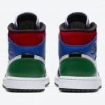 "Nike WMNS Air Jordan 1 ""Patent Brend"" (ナイキ ウィメンズ エア ジョーダン 1 ""パテント ブレンド"") CV5276-001 back"