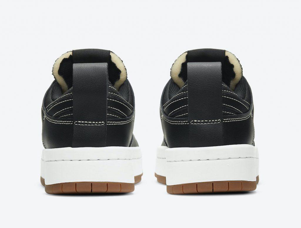 Nike Dunk Low Disrupt Black CK6654-002 ナイキ ダンク ロー ディスラプト ブラック back