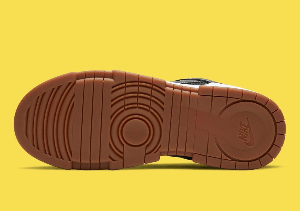 Nike Dunk Low Disrupt Black CK6654-002 ナイキ ダンク ロー ディスラプト ブラック close sole