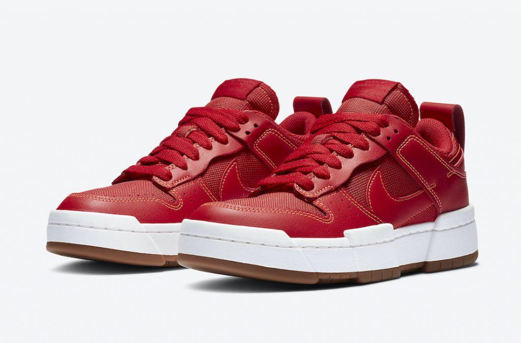 ナイキ ダンク ロー ディスラプト レッド ガム Nike Dunk Low Disrupt Red Gum CK6654-600 main
