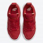 ナイキ ダンク ロー ディスラプト レッド ガム Nike Dunk Low Disrupt Red Gum CK6654-600 above