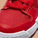 ナイキ ダンク ロー ディスラプト レッド ガム Nike Dunk Low Disrupt Red Gum CK6654-600 close toe