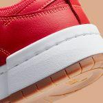 ナイキ ダンク ロー ディスラプト レッド ガム Nike Dunk Low Disrupt Red Gum CK6654-600 close heel