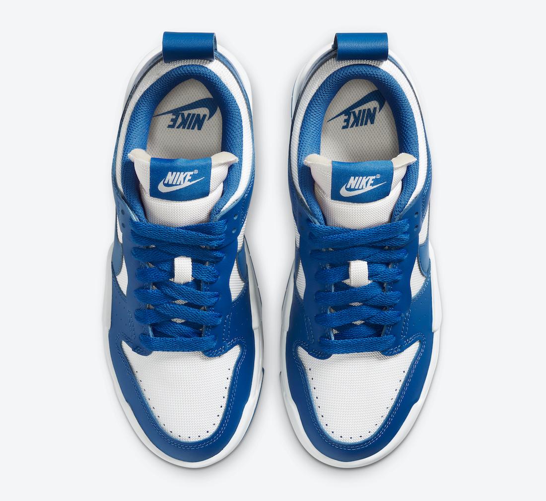 Nike WMNS Dunk Low Disrupt ナイキ ダンク ロー ディスラプト CK6654-100 Game Royal above