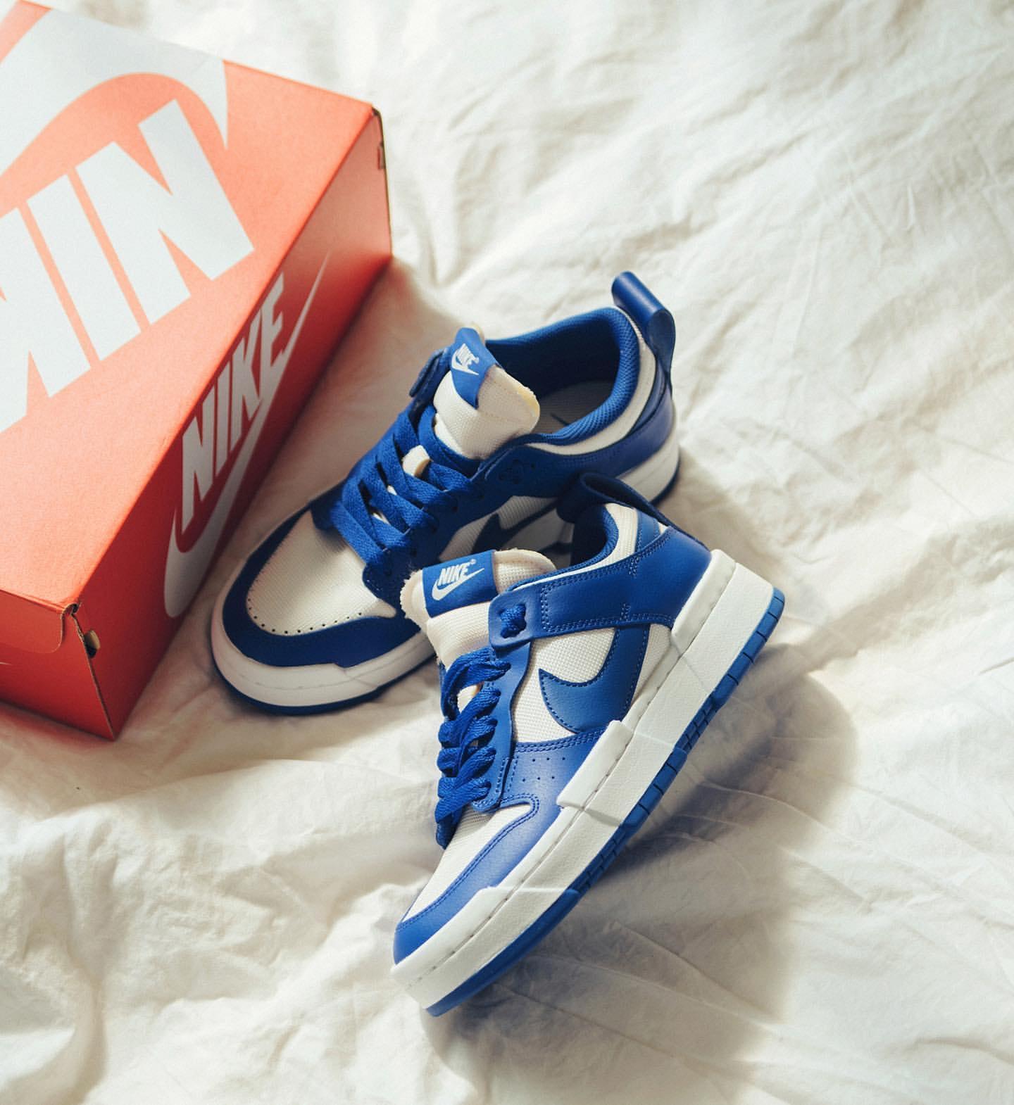 Nike WMNS Dunk Low Disrupt ナイキ ダンク ロー ディスラプト CK6654-100 Game Royal main