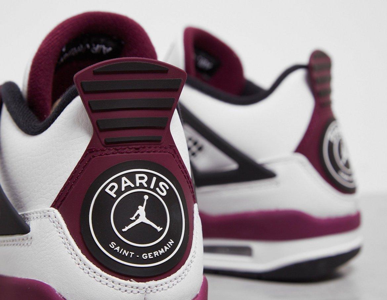 Nike x PSG Air Jordan 4 ナイキ x パリサンジェルマン エアジョーダン4 CZ5624-100 back