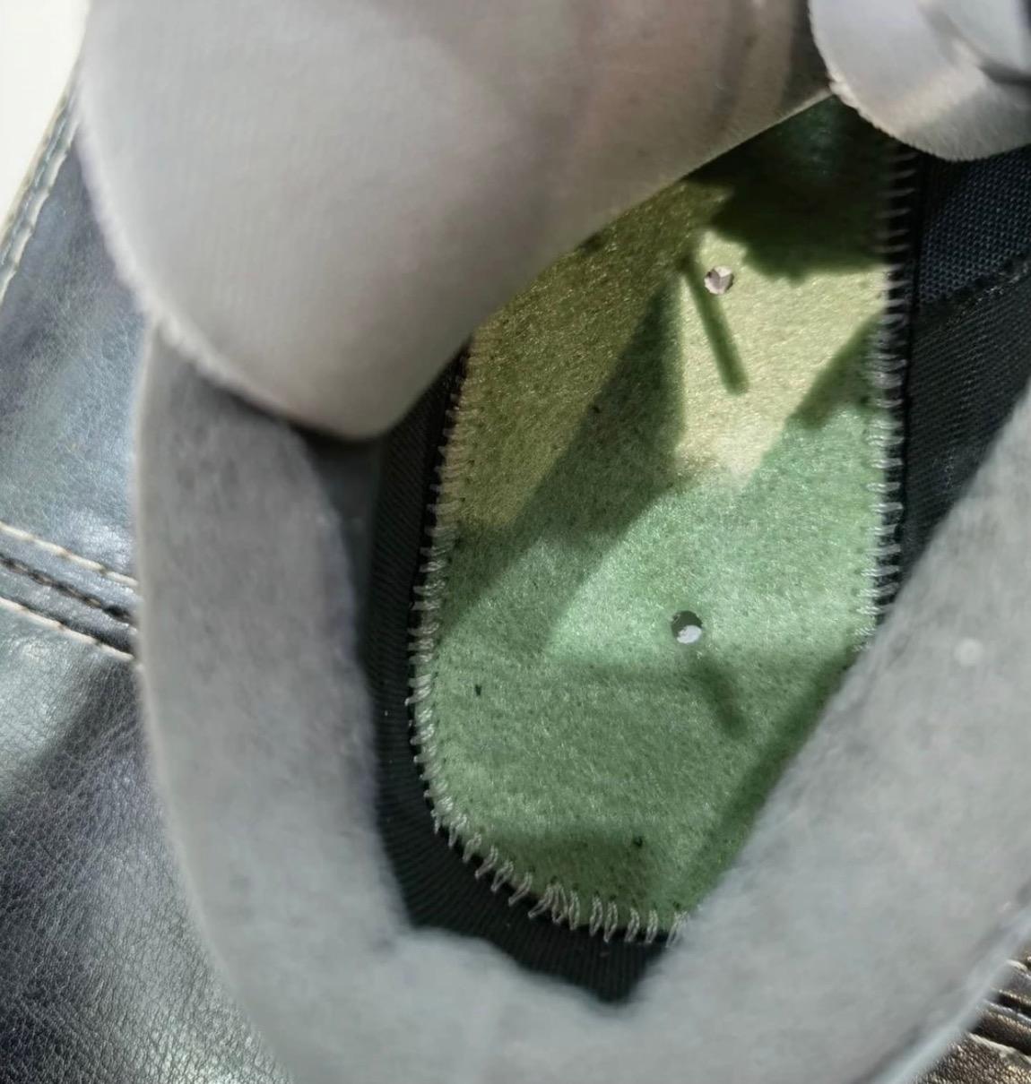Sacai × Nike Blazer Low (サカイ × ナイキ ブレーザー ロー) black detail