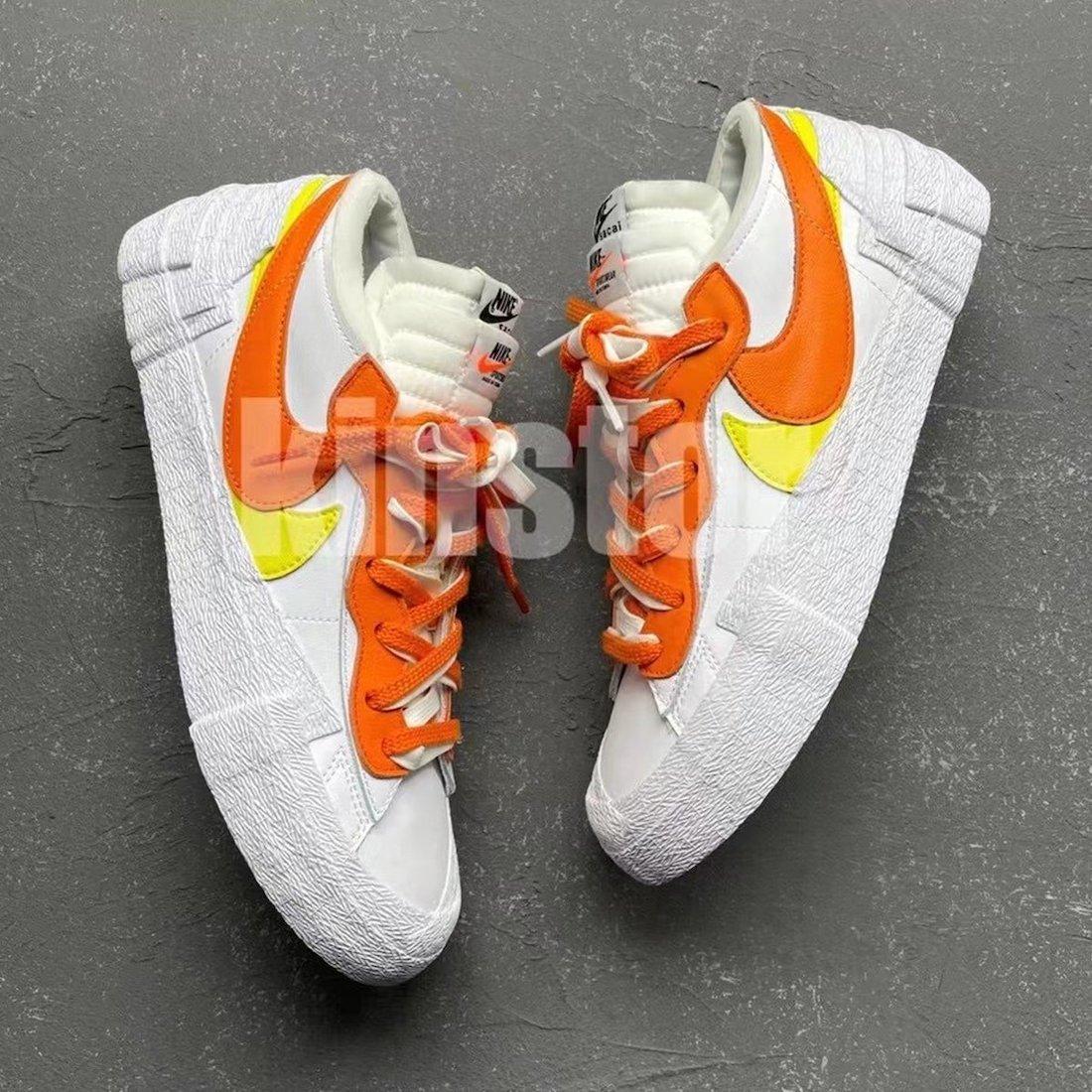 Sacai × Nike Blazer Low (サカイ × ナイキ ブレーザー ロー) DD1877-100