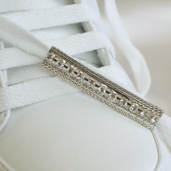 Shoe pierce sneaker accessory How to シューピアス スニーカー アクセサリー 付け方 2