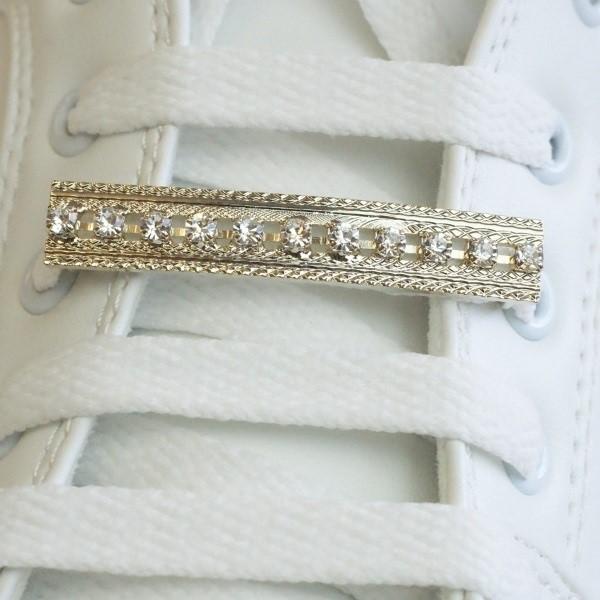 Shoe pierce sneaker accessory How to シューピアス スニーカー アクセサリー 付け方 3