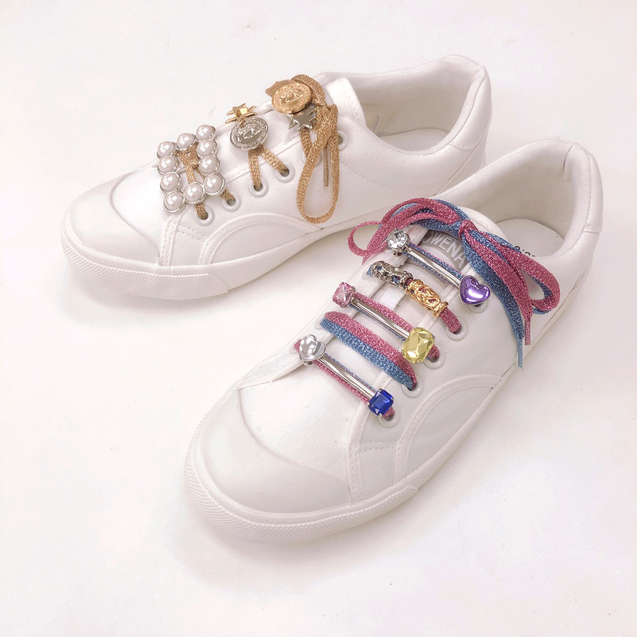 Shoe pierce sneaker accessory bijou シューピアス ビジュー ハート スニーカー アクセサリー ジュエリー