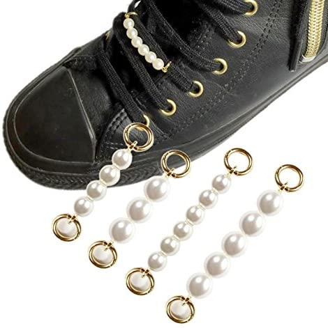 Shoe pierce sneaker accessory pearl シューピアス スニーカー アクセサリー パール