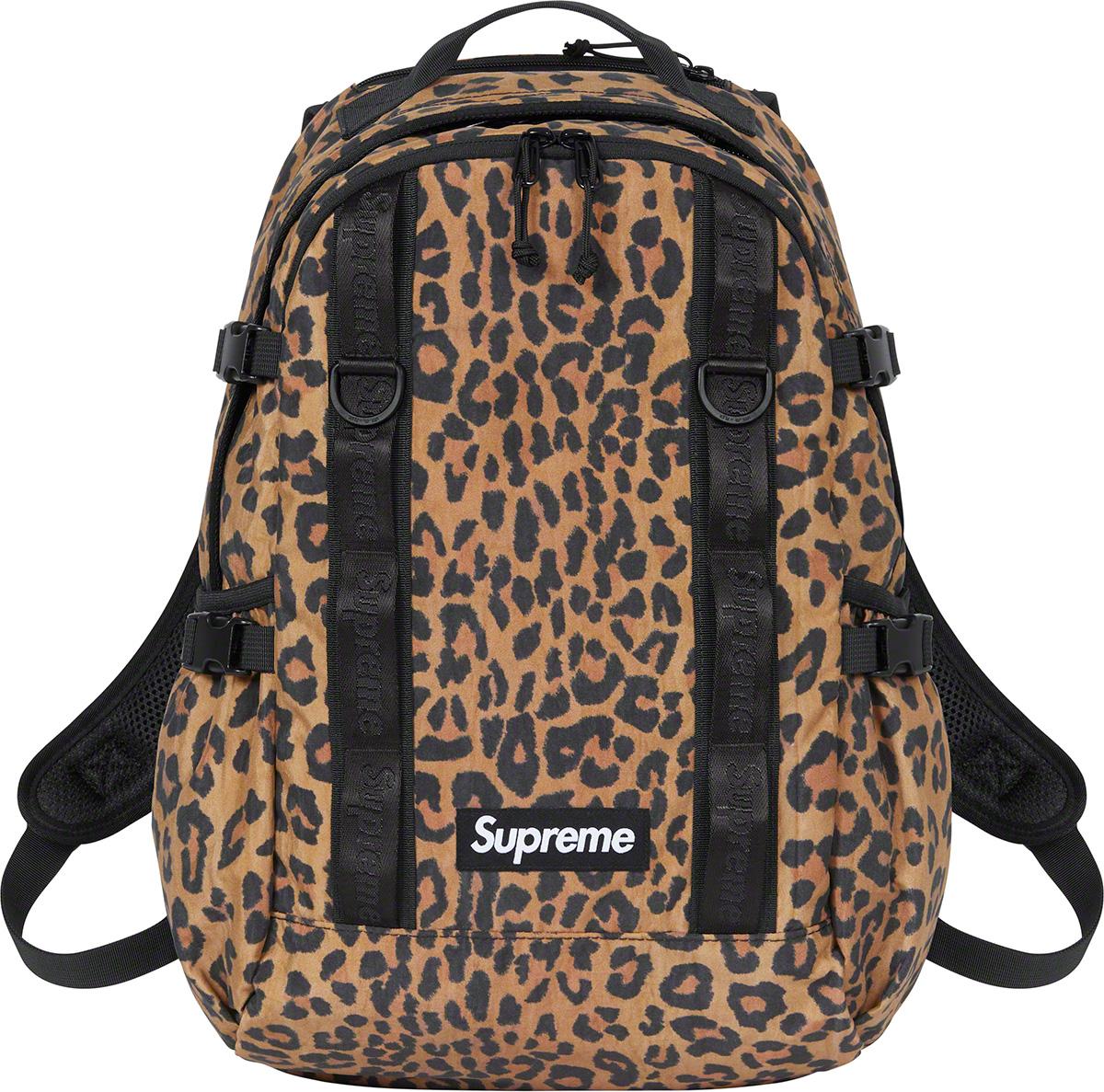 Supreme 2020fw Backpack シュプリーム 2020年秋冬 リュック バックパック ヒョウ柄