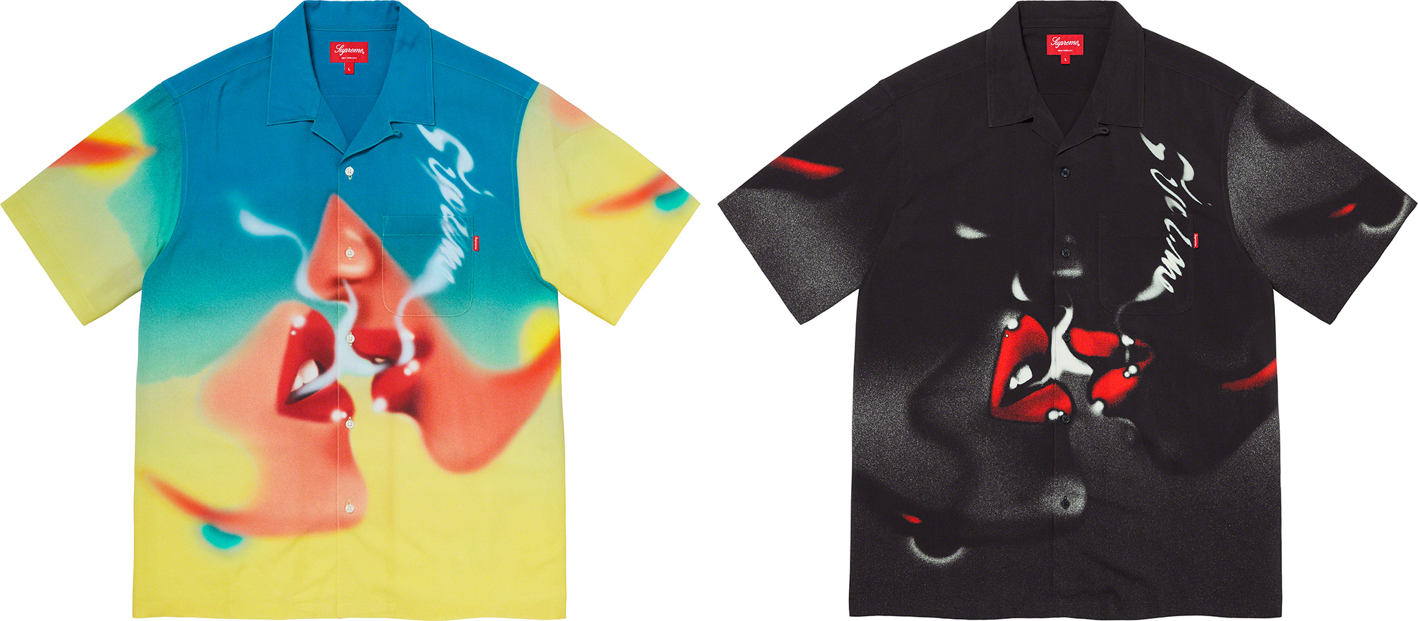 Supreme 2020fw Blow Back Rayon SS Shirt シュプリーム ブロー バック レーヨン シャツ