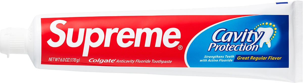 Supreme 2020fw Colgate Toothpaste シュプリーム コラボ 歯磨き粉
