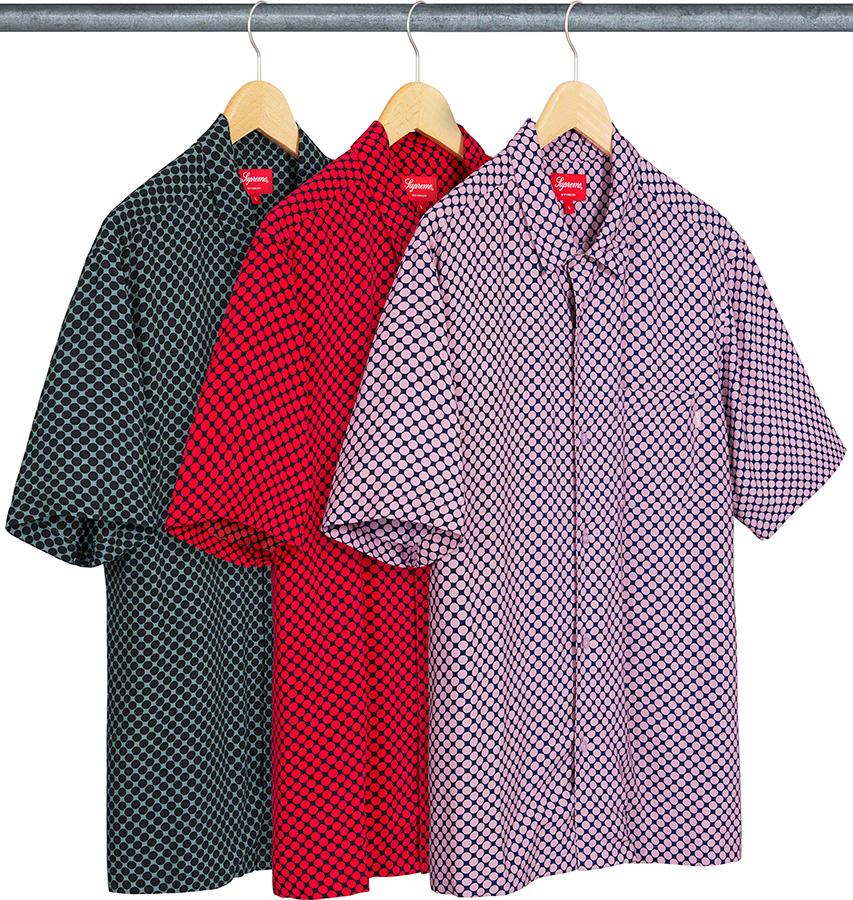 Supreme 2020fw Compact Dot Rayon SS Shirt シュプリーム コンパクト ドット レーヨン シャツ