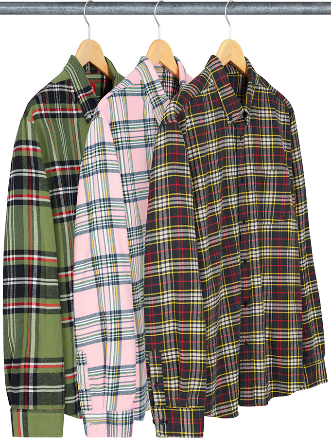 Supreme 2020fw Tartan Flannel Shirt シュプリーム タータンチェック