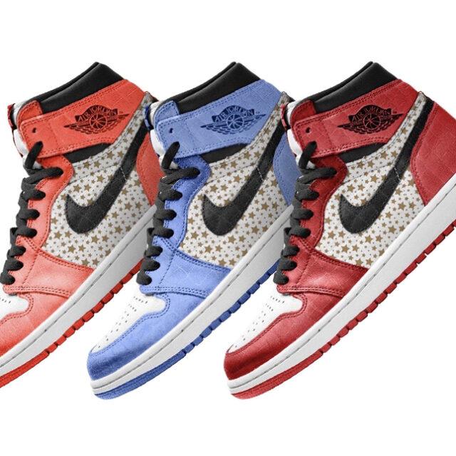 Supreme × Nike Air Jordan 1 (シュプリーム × ナイキ エア ジョーダン 1) Mock