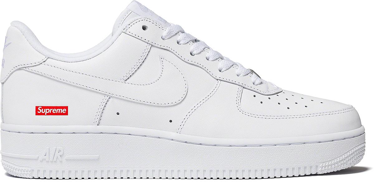 Supreme x Nike Air Force 1 Low White シュプリーム ナイキ エア フォース 1 ホワイト