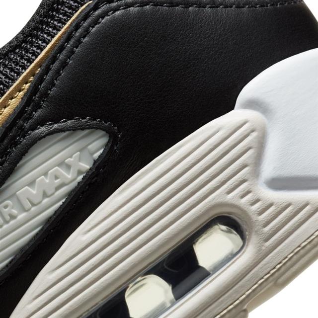 NIKE WMNS AIR MAX 90 (black & gold) ナイキ ウィメンズ エアマックス90 ブラック ゴールド DB9578 heel