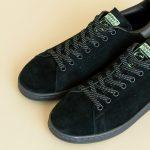 adidas WMNS Suede Stan Smith (アディダス ウィメンズ スエード スタンスミス) black toe