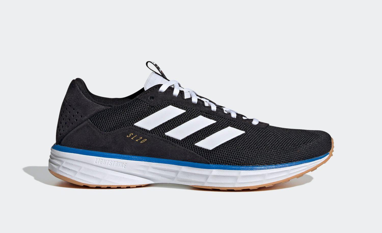 adidas SL 20 NOAH Black FW7858 side three stripes
