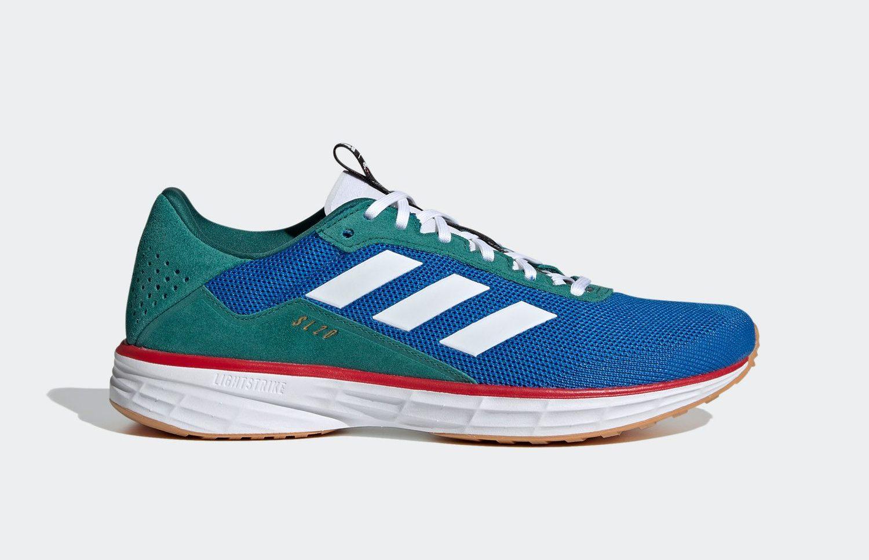 NOAH × adidas SL 20 (ノア × アディダス SL 20) FW3267 Blue side three stripe
