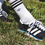 adidas SL 20 NOAH Black FW7858 three stripes close